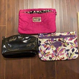 Marc Jacobs & Christian Dior Makeup bag bundle